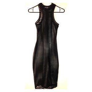 Black Mesh Dress by Nasty Gal